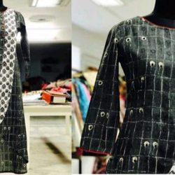 Black color stylish dress
