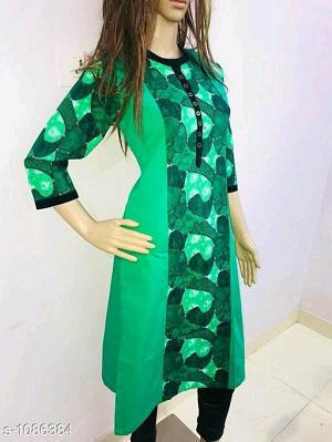 Myhra Stylish Pretty Cotton Kurtis