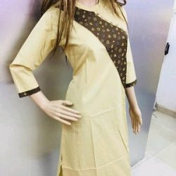 Myhra Stylish Pretty Cotton Kurtis